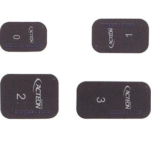 Satelec Fosforplaat ERLM nieuwe PSPIX (2015) size 1 24 x 40 mm ref.990216. 2 stuks.-0