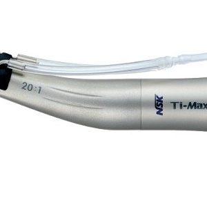 NSK Ti-Max hoekstuk groen X-SG20L met 20:1 reductie en licht-0