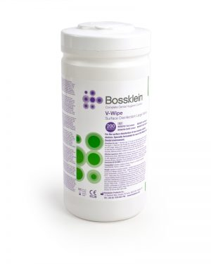 BossKlein Large V-Wipes Alcohol Surface Disinfectant-0