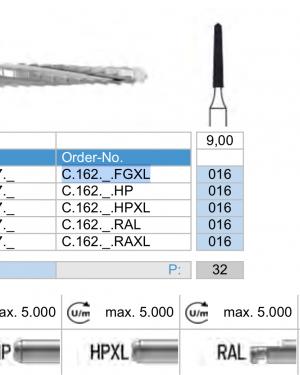 C.162.016.FGXL x 10 Boren-0
