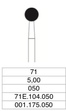 C.71E.104.050 x 1 boor-0