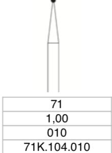 C.71K.104.010 x 5 boren-0